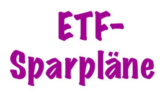 ETF Sparpläne Guanshe