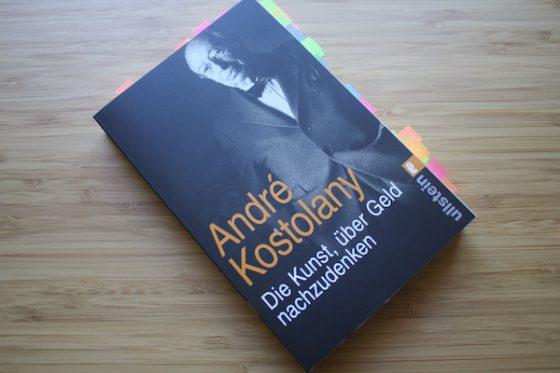Buch Andre Kostolany DIe Kunst ueber geld nachzudenken