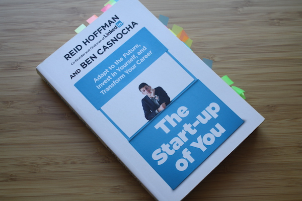 Buch The Start-up of you Reid Hoffman