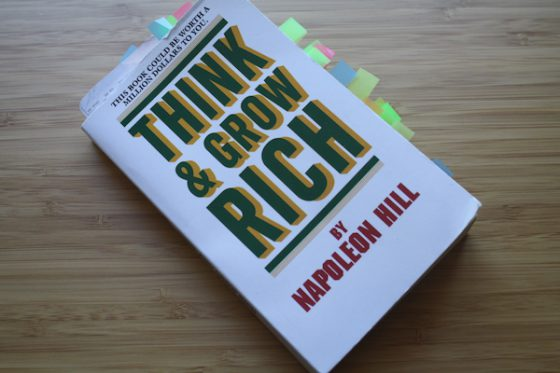 Buch Think Grow and Rich Napoleon Hill Guanshe