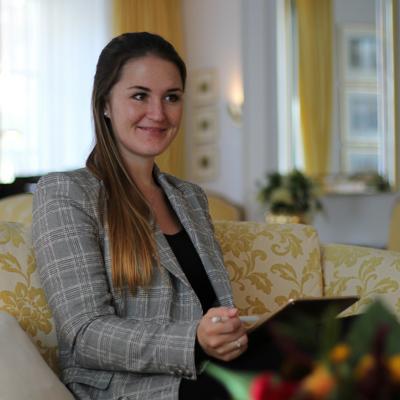 Corinne Brecher Geldfreundinnen Interview